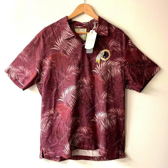 Tommy Bahama Other - Tommy Bahama Washington Redskins Hawaiian Shirt
